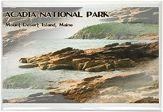 CafePress Acadia National Park Coastline Rectangle Magnet, 2