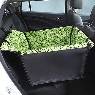 Bulawlly Fundas de los Asientos Delanteros para automóviles Asiento Upgrade Deluxe Portátil con cinturón de Seguridad y Laterales Acolchados Resistentes al Agua,Verde