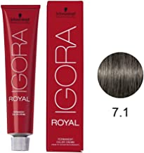 Schwarzkopf Igora Royal Coloração 7/1 Louro Médio Cinza