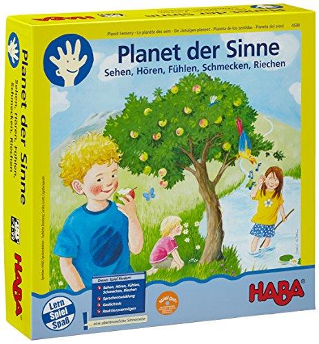 HABA 4588 - Planet der Sinne, Spielesammlung zur Wahrnehmungsförderung