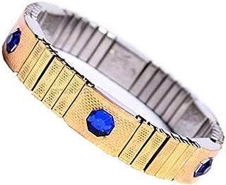 rudradivine Blood Pressure Control Magnetic Bracelet Bp Monitor Bracelet (Golden) for Men Women and Teens with 100% Original Magnet