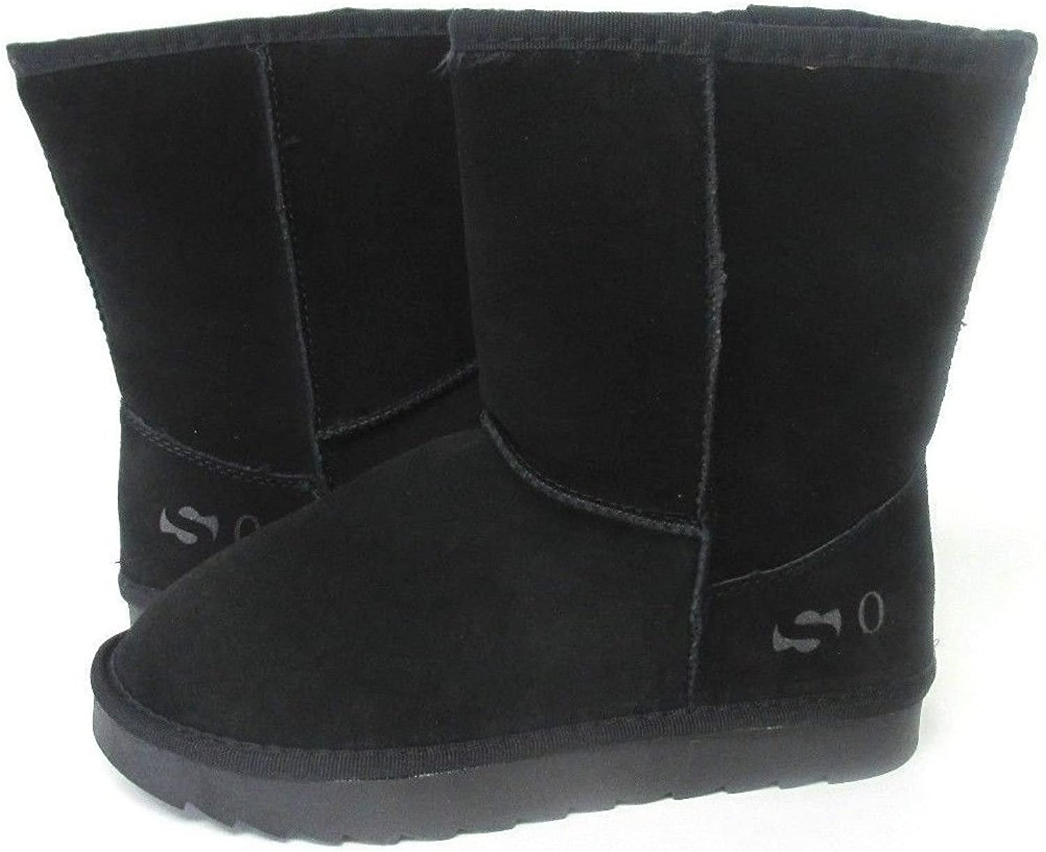 New Women Brand So Short Boot Black 1232 Original