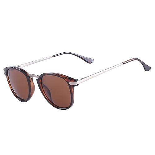 71de1f21519 Sunglasses Women Man s Polarized Driving Retro Fashion Mirrored Lens UV  Protection Sunglasses