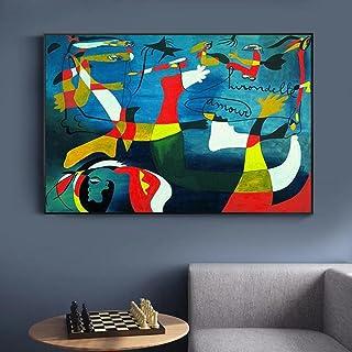 Picasso CéLèBre Peinture à l'huile Picasso Art Mural Picasso Affiche Decoration De La Maison Toile Tableau Peinture Picass...