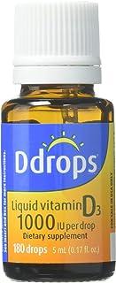 Ddrops 1000IU (5mL) 液体滴剂维生素 1盒180滴