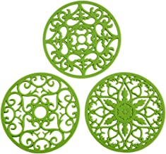 Colinda Silicone Trivet for Hot Dishes, Hot Pot and Pads - Protect Countertop from Hot Pot and Pans Coming Out from the Ov...