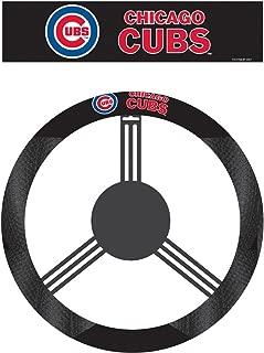 Fremont Die MLB Unisex-Adult Poly-Suede Steering Wheel Cover