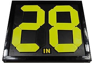 Spartan 重型塑料运动员替换号码板,00-99 数字 黑色 SPN-PCB1A