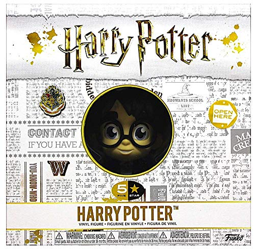 Funko 30449 5 Star Potter: Harry Figuras coleccionables, Multicolor, estándar 5