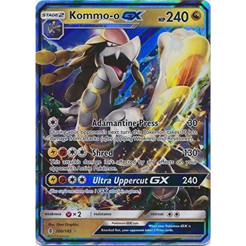 Amazon.com: Kommo-o-GX - 100/145 - Ultra Rare: Toys & Games