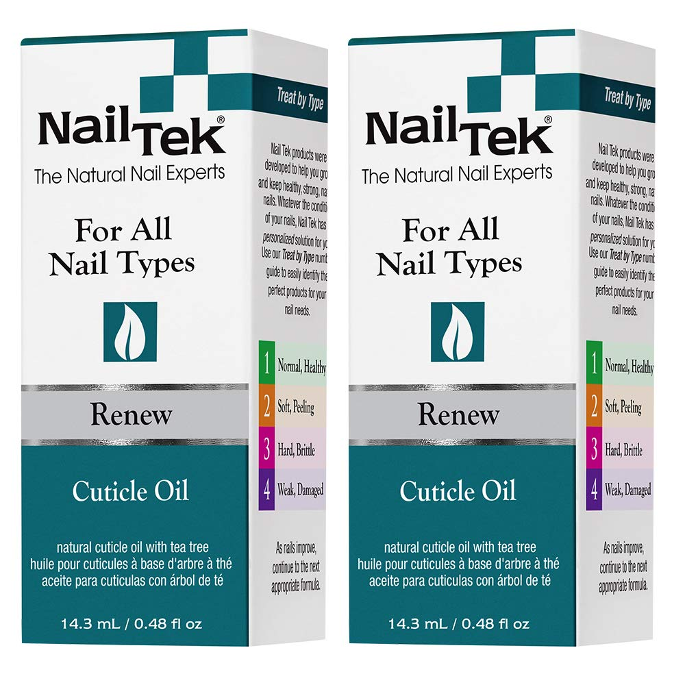 Max 49% OFF Nail Tek Renew Natural Cuticle Oil for T with Tree All Tea Max 88% OFF