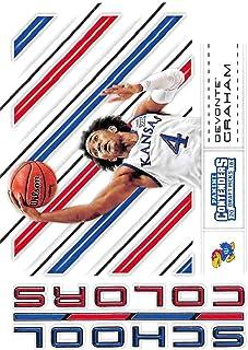 570083326a5 2018-19 Panini Contenders Draft Picks Basketball School Colors  31 Devonte   Graham Kansas