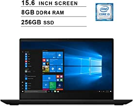 Lenovo 2019 Premium Ideapad S340 15.6 Inch HD Laptop (Intel Dual Core i3-8145U up to 3.9 GHz, 8GB RAM, 256GB SSD, Intel UHD Graphics 620, WiFi, Bluetooth, HDMI, Windows 10) (Black)