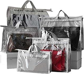Sac Rangement Sac de stockage, sac à main Organizer Dust Cover sac transparent anti-poussière Purse Sac de rangement for P...