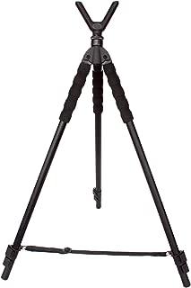 Leader Accessories Lightweight Aluminum Alloy Shooting Stick Tripod Height Adjustable, 19.5