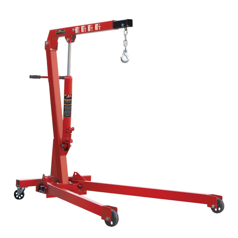 Capacity 3//4 Ton Torin Big Red Engine Hoist//Shop Crane Accessory: Steel Engine Leveler 1,500 lb