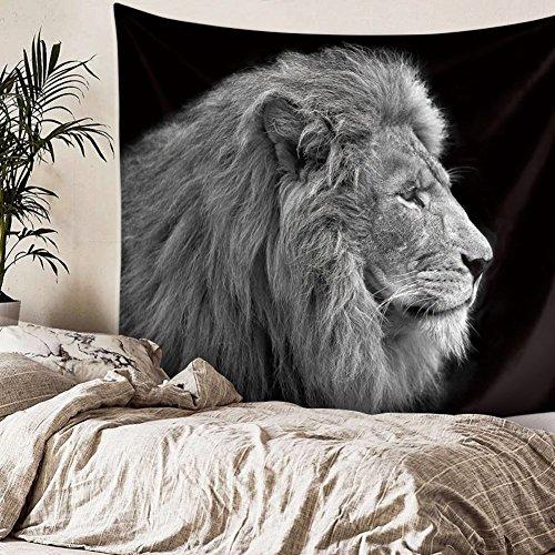 cortinas dormitorio blanco y negro