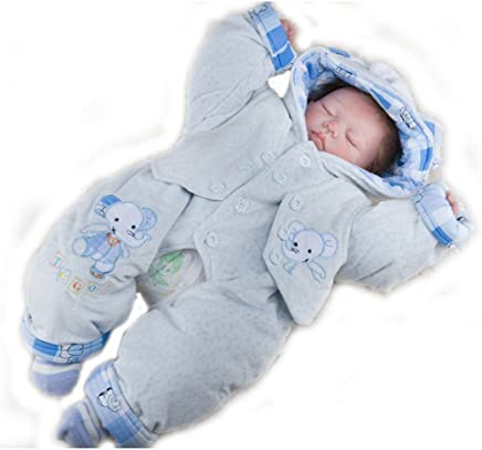GAOYY Simulation Doll Reborn Baby 50cm Dress Soft Silicone Doll Childrens Toys,50cm