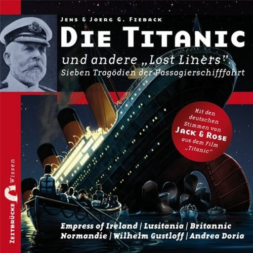 """Die Titanic und andere """"Lost Liners""""  By  cover art"""