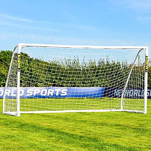 Net World Sports Forza Fußballtore – das Beste Tor bei jedem Wetter – 5 Größen (Match 3,7m x 1,8m)