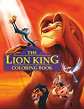Lion King Coloring Book: Great 47 Illustrations for Kids
