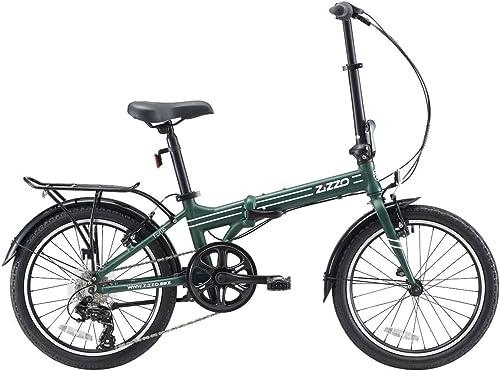 Medio Adultos Unisex Verde Urban Mobility Hummer Bicicleta Urbana Plegable