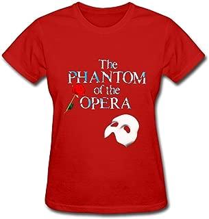 Women's Phantom of The Opera Rose T Shirts