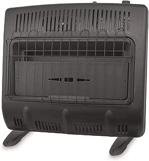 Mr. Heater 30,000-BTU Vent-free Blue Flame Propane Heater, Black