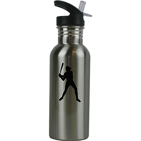 Custom Baseball water bottles w mister to cool off