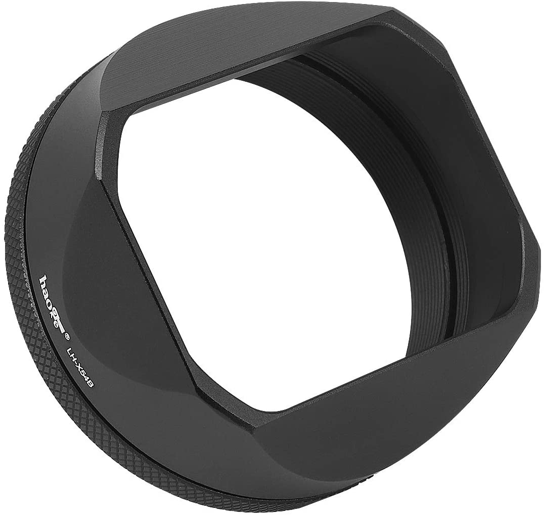 Portland Mall Haoge LH-X54B Max 45% OFF Square Metal Lens Hood Adapter Ring for 49mm with