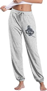 Woman's Casual Sweatpants, Knives Soldier Athletic Long Pants Gym Pants with Elastic Band