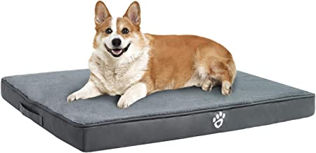 Utotol Orthopedic Dog Bed for Small | Medium | Large | Jumbo Dogs, Memory Foam Pet Bed Mattress with Removable Washable Co...