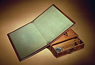 Thomas Jefferson Desk Nmahogany Portable Writing Desk Designed By Thomas Jefferson And Built By Benjamin Randolph C1775 Poster Print by (18 x 24)