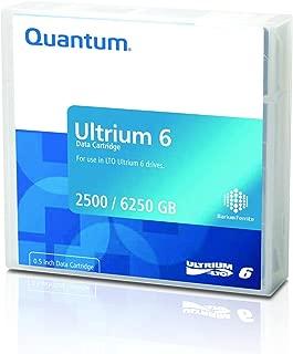Quantum LTO Ultrium 6-2.5 TB / 6.25 TB - Black