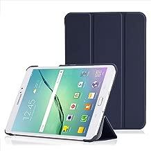 MoKo Samsung Galaxy Tab S2 8.0 Case - Ultra Sottile Leggero Supporto Custodia per Samsung Galaxy Tab S2 8.0 inch Tablet, INDACO (Con Smart Cover Auto Sveglia / Sonno)