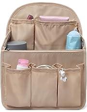 バッグインバッグ リュック 改良15ポケット A4 b4 c4 収納整理 大容量 軽量 ナイロン フェルト インナーバッグ インナーポケット 収納力抜群 仕分け デイパック・ザックに便利 メンズ レディース bag in bag