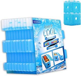 Ice Packs for Coolers and Lunch Box Reusable Cooler Ice Packs DIY Dry Freezer Packs for Work Camping Kids Food by OICEPACK
