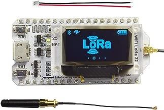 Assembled 0.96inch OLED Display Module ESP32 ESP-32S WiFi Bluetooth Lora Development Board Antenna Transceiver SX1276 915MHZ 868MHZ IOT for Arduino Smart Home DIYmall