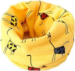 Boomly Bebés niños Loop bufanda Bufanda de algodón Cuello caliente O Anillo Cuello bufandas Pañuelo pañuelo Niños bufanda ...