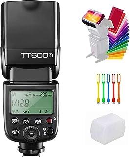 Godox TT6002.4GHz Wireless GN60Master/Slave Flash Speedlite for Canon Nikon Pentax Olympus Fujifilm DSLR Cameras black