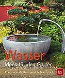 Wasser im Garten: Praxis von Minibrunnen bis Naturpool