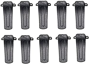 BERON Set of 10 Replacement Radio Belt Clip Clamp Clinch Hook Bracket for Baofeng Two Way Radio H777 BF-666S BF-777S BF-888S BF-999S
