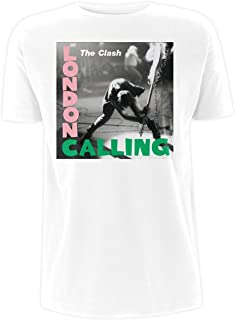 The Clash Officially Licensed Men's Band London Calling T-Shirt   S-XXL