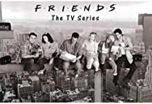 Friends- Black & White Poster Rolled 36 x 24 PSA009999