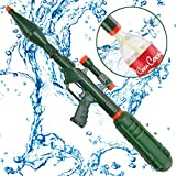 Happytime Super Water Cannons Summer Toys TOP18010 2019 800CC Water Gun with Green Bottle for Kids Children Adults