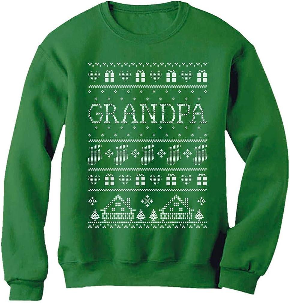 Funny Grandpa Ugly Christmas Sweater Xmas Gift for Papa Sweatshirt