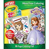 Crayola Color Wonder, Sofia The 1st Refill Book, 18 Sofia Coloring Pages, Gift for Age 3, 4, 5, 6