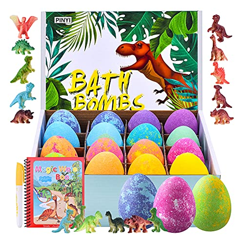(20% OFF) Surprise Inside Bath Bombs for Kids – 16 Pack  $15.99 – Coupon Code