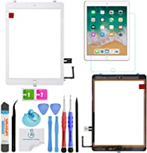 OmniRepairs Glass Touch Screen Digitizer Assembly OEM Replacement with Home Button Compatible for iPad 6 (6th Generation) 2018 Model (A1893 and A1954) with Adhesive and Repair Toolkit (Gold)
