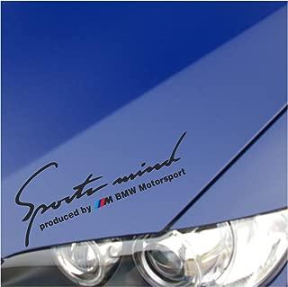 Sports Mind produced by M BMW Performance Sticker Decal M1 for BMW 335I E90 E92 750 650 550 535 E38 325I 318I 328I Z4 M3 M5 M6 X3 X5 X6 Z3 Z8 335 I XI 330 328 M4 (10